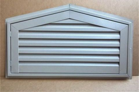 doghouse hinged gable vent