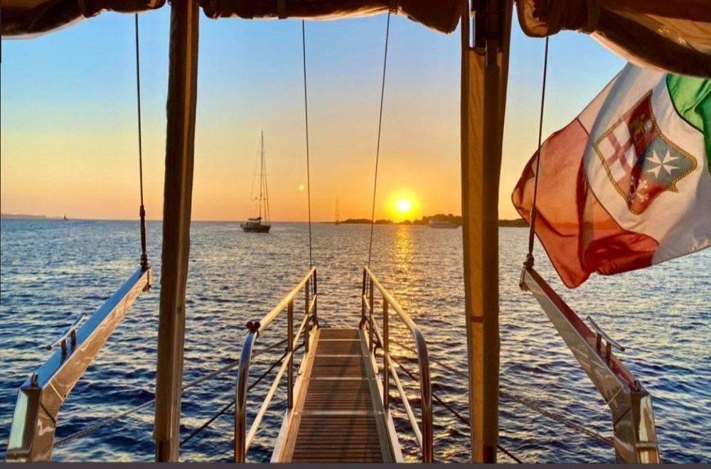 Sunset Gulet Cruise Italy