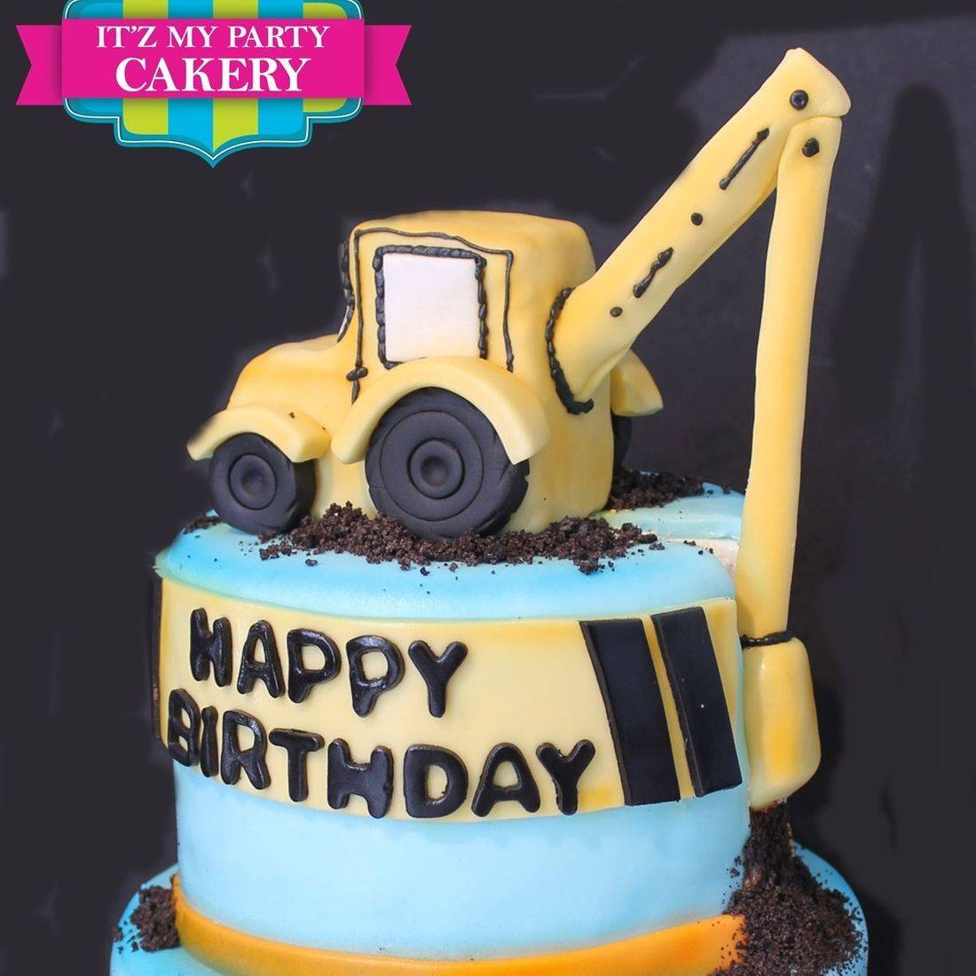 Custom Construction Cake Milwaukee