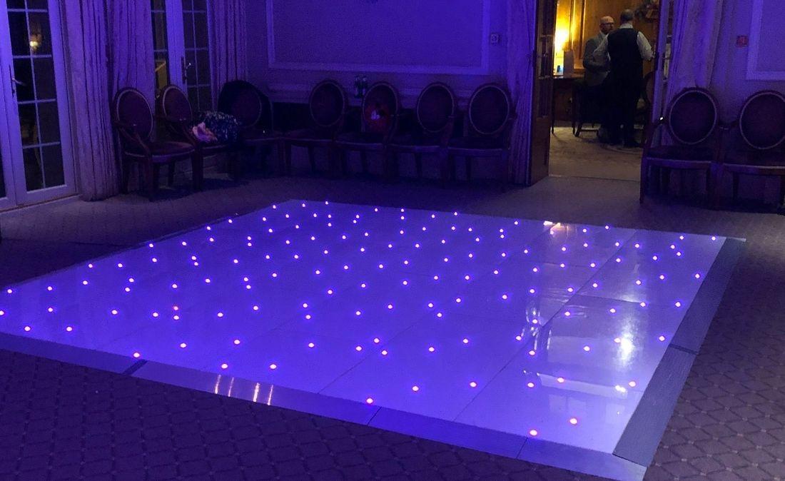 Birmingham Stourbridge Marquee Wedding Venue Worcestershire LED Dancefloor Hire