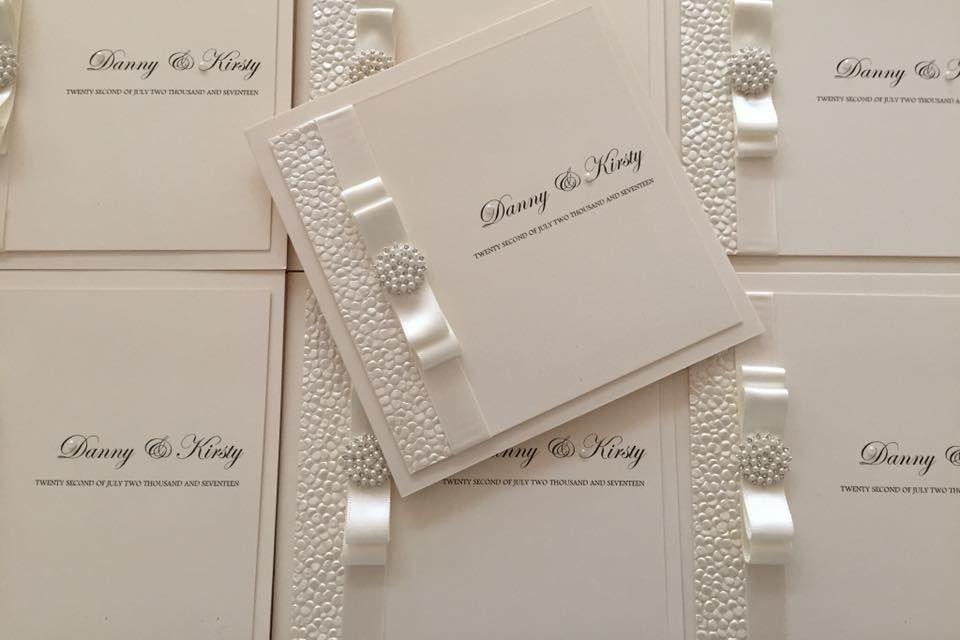 folded wedding invitations, wedding invitations, luxury wedding invitation