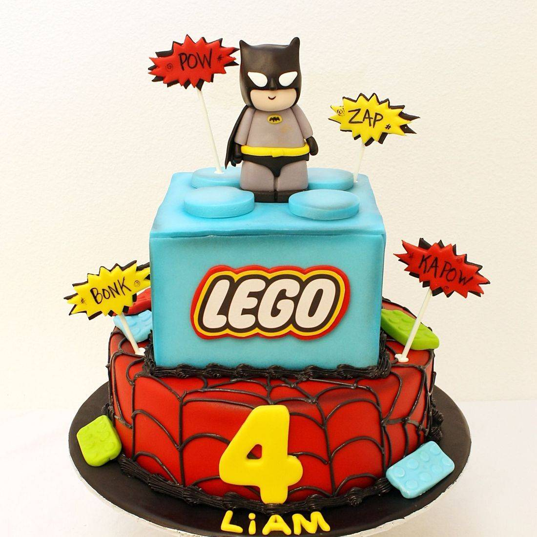 Lego Batman Cake Milwaukee