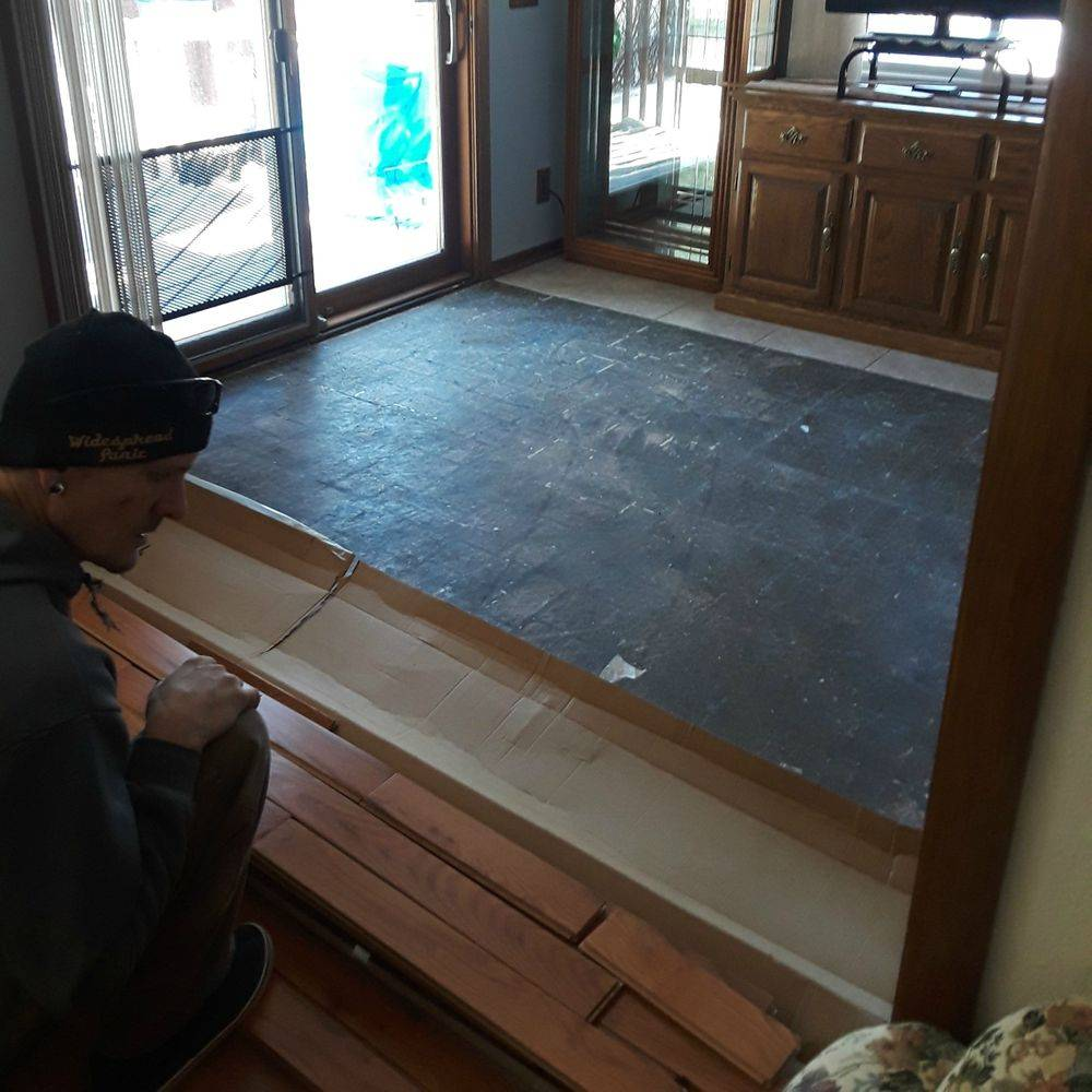Jer Bear Homes | Inver Grove Heights | Hardwood Flooring | During