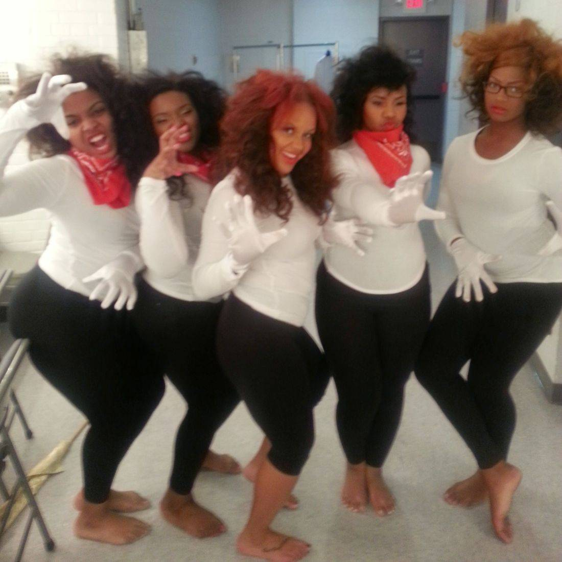A group of ladies