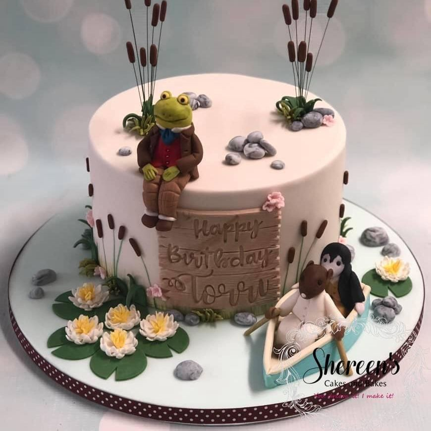Wind in the willows Cake
