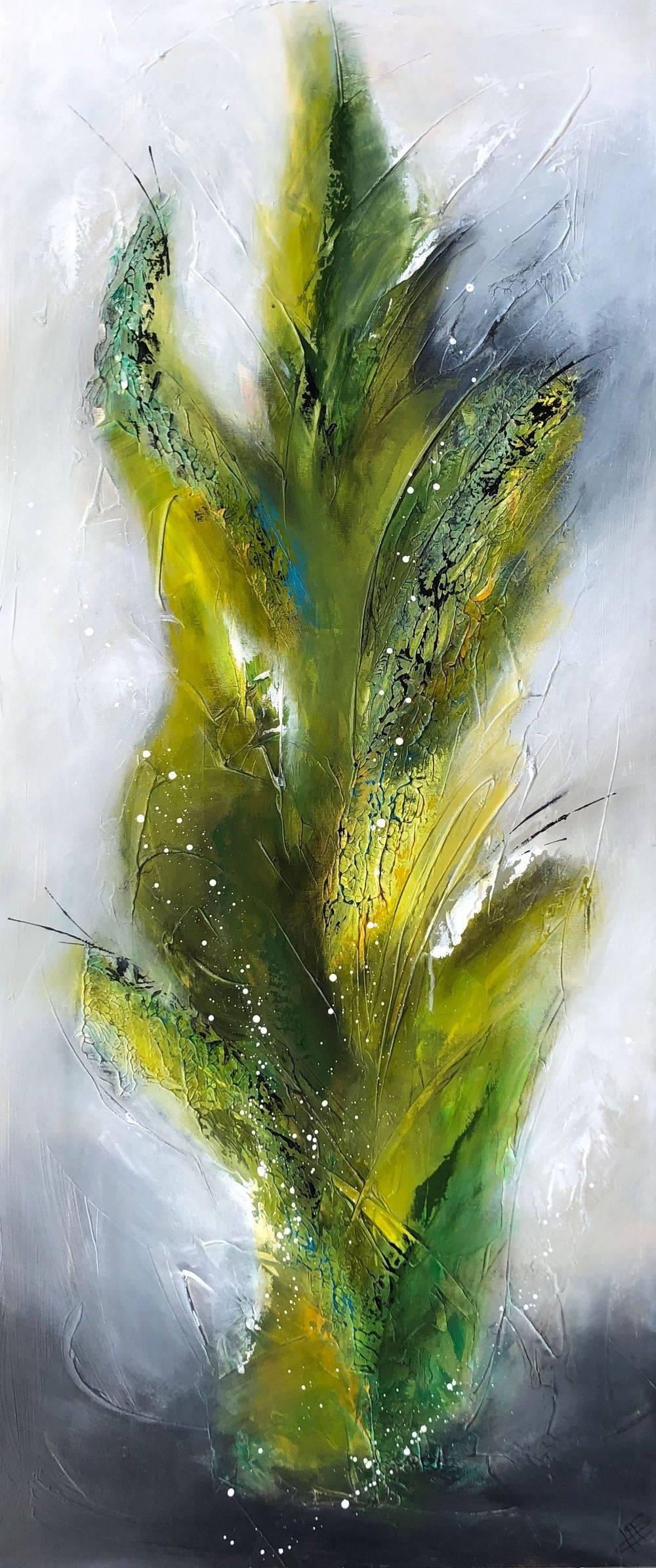 moderne-malerier-til-salg-grøn