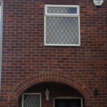 Completed structural repairs and house repointed