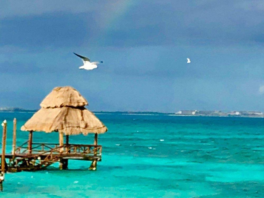 Rainbow Over La Isla Mujeres