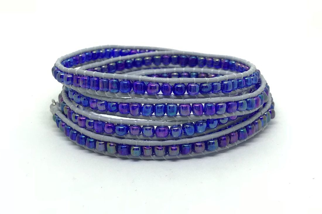 beaded wrap 253 bracelet Tacoma