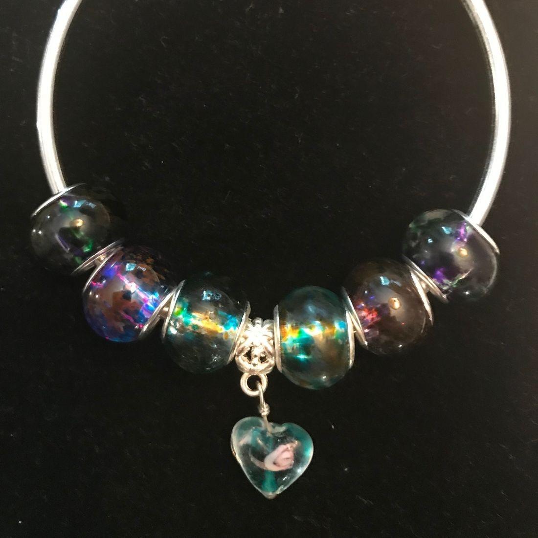 Murano Glass Beaded Bracelet