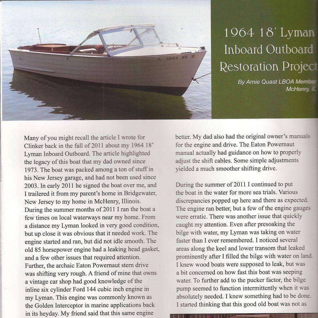 Wooden boat restoration by Bergersen Boat