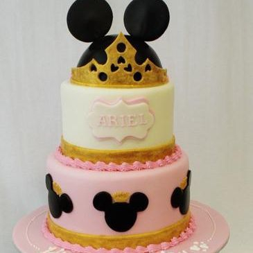 Custom Minnie Princess Cake Milwaukee