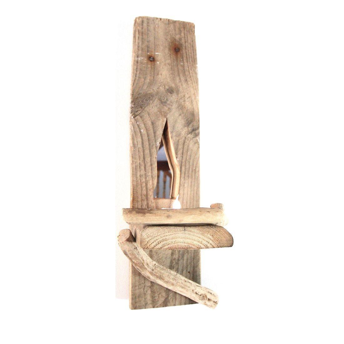 Driftwood Sconce single 4