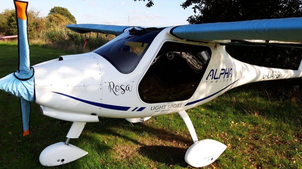 Pipistrel Alpha Trainer Aircraft Aerial Photographer Essex