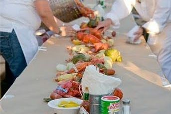 This is the Arista lobster beer shrimp clam chicken boil