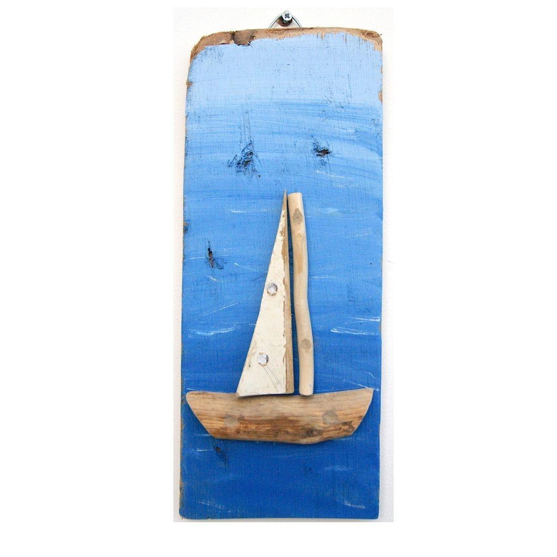 Driftwood boat 10
