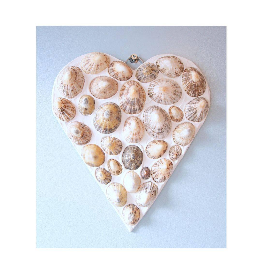 25 Mosaic Shell limpit heart