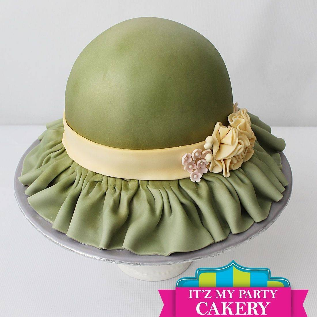 Lady's Hat  Cake Carved Dimensional Cake Milwaukee