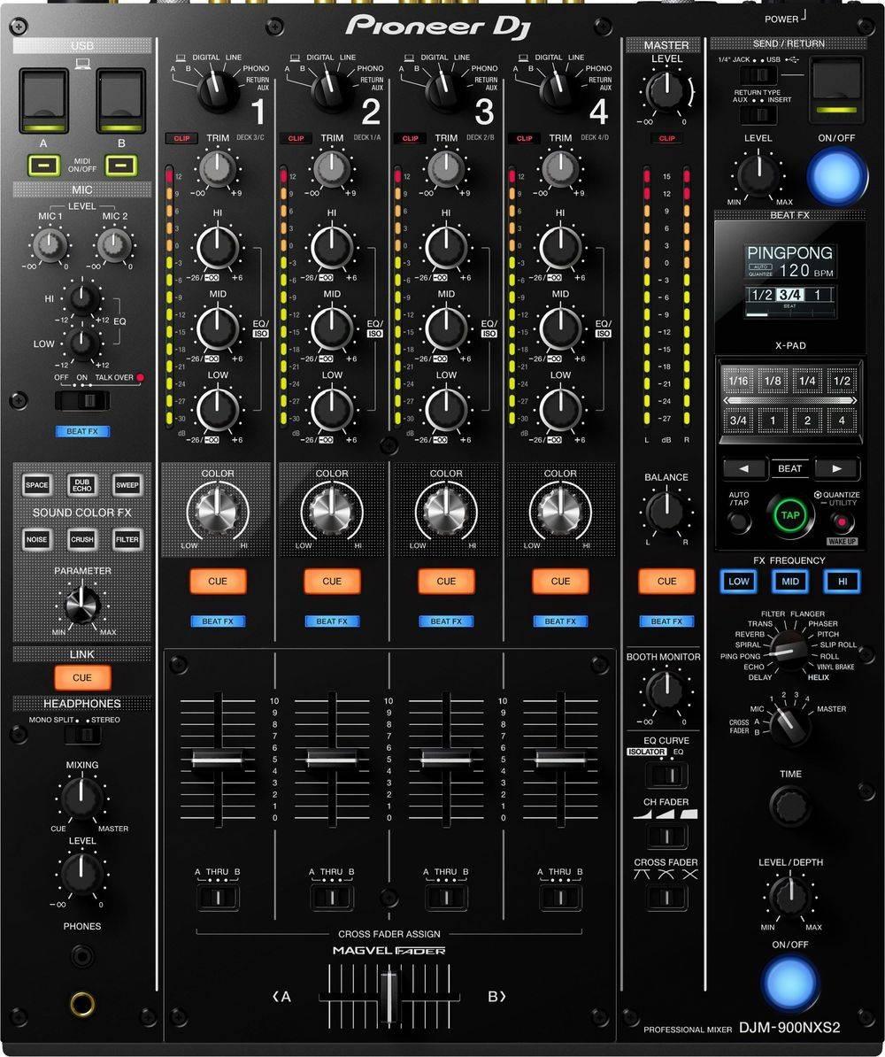 Pioneer DJM 900 Mixer for rent