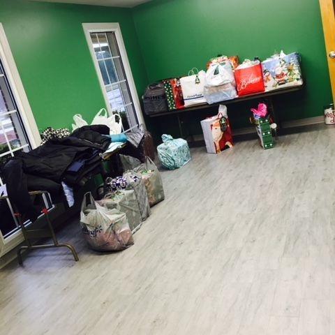 Room full of bags
