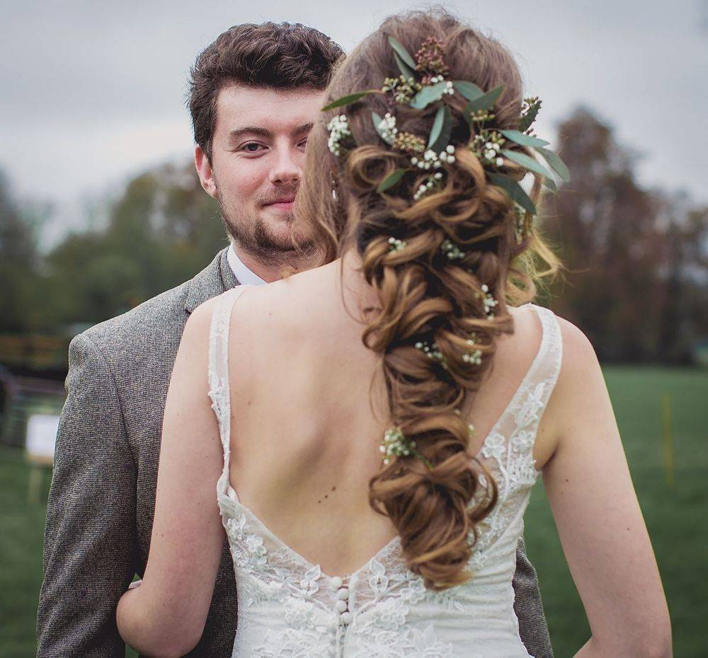 Boho wedding hair inspiration