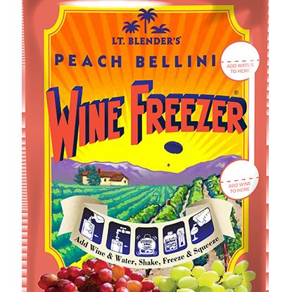 Wine Freezer Peach Bellini