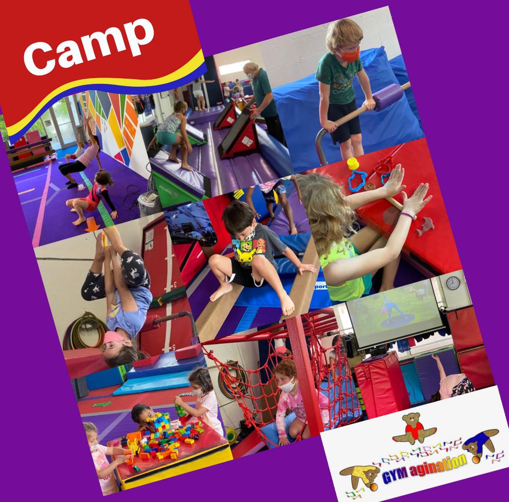 gymnastics camp Miami, FL ages 4-8 year olds