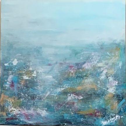 KRobinson - Breathe -Acrylics 24x24  $495