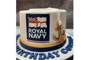Royal Navy Cake