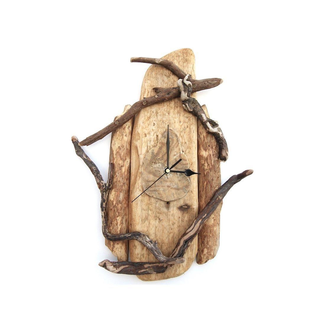 Driftwood Clock 5