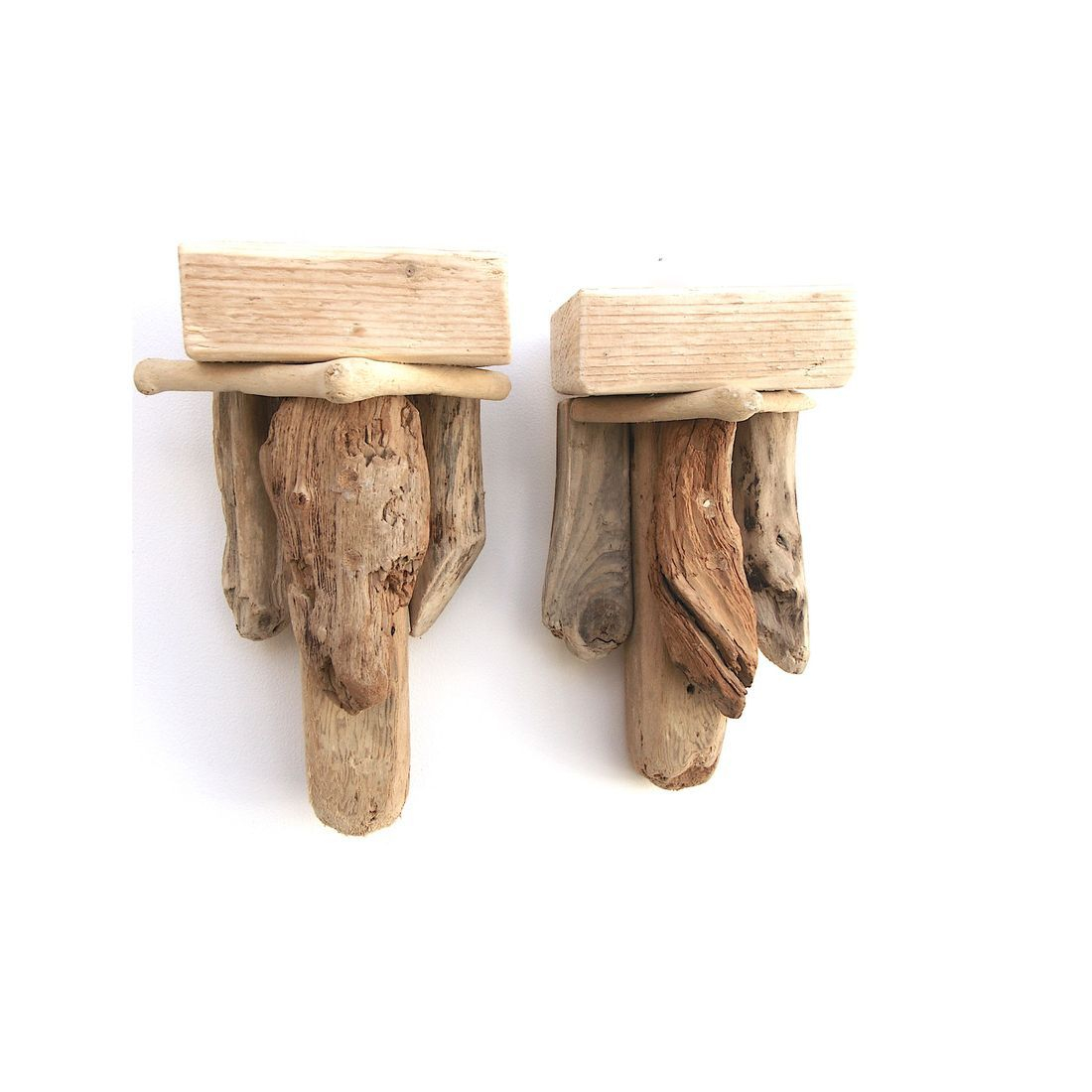 Driftwood Sconce pair 2