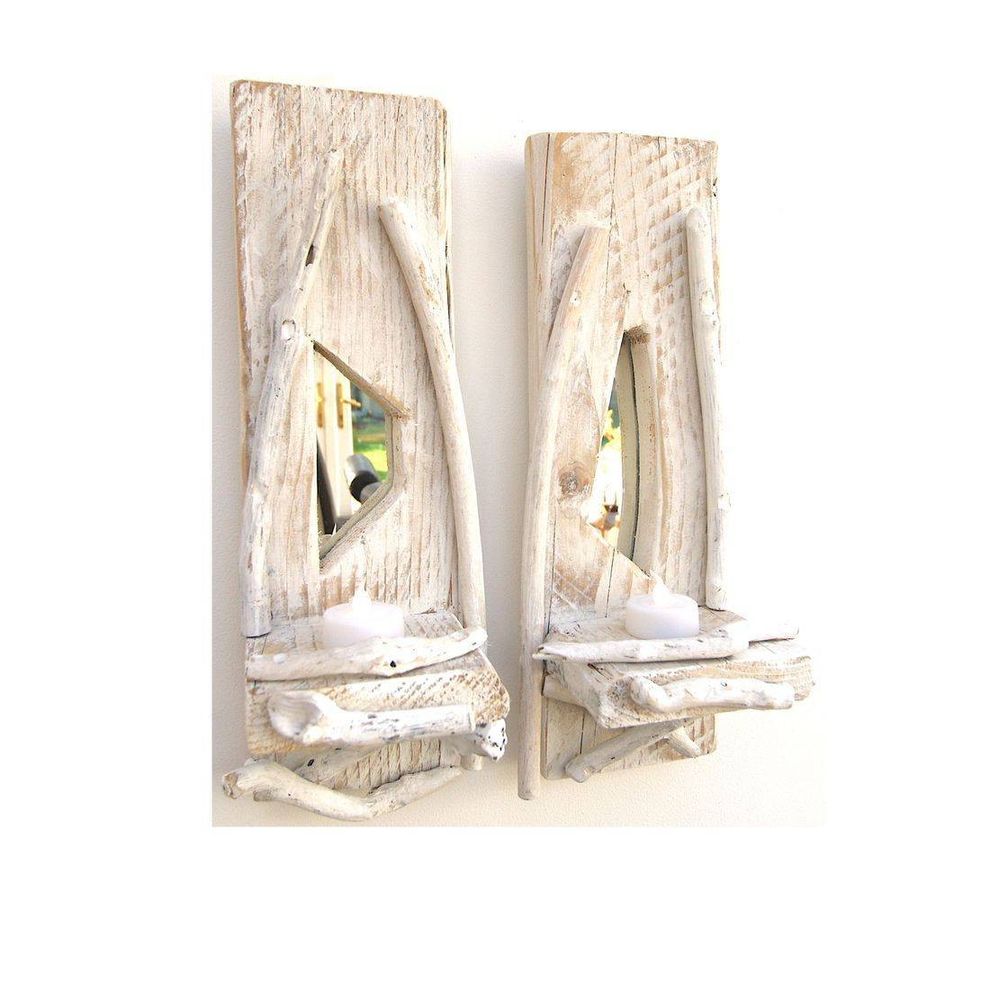 Driftwood Sconce pair 7