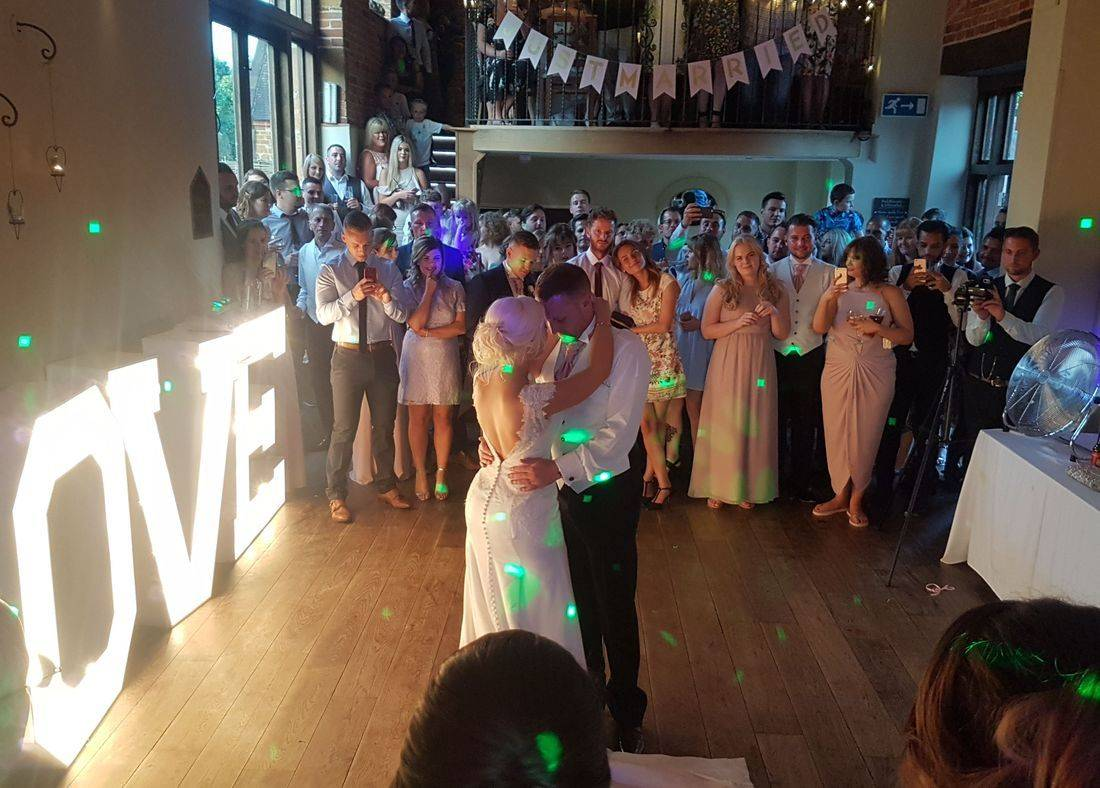 Wedding DJ and Love Letters Hire