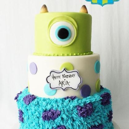 Custom Monsters Inc Cake Milwaukee