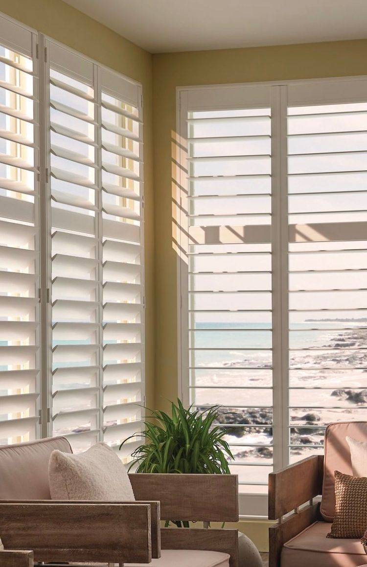 Beautiful plantation shutters
