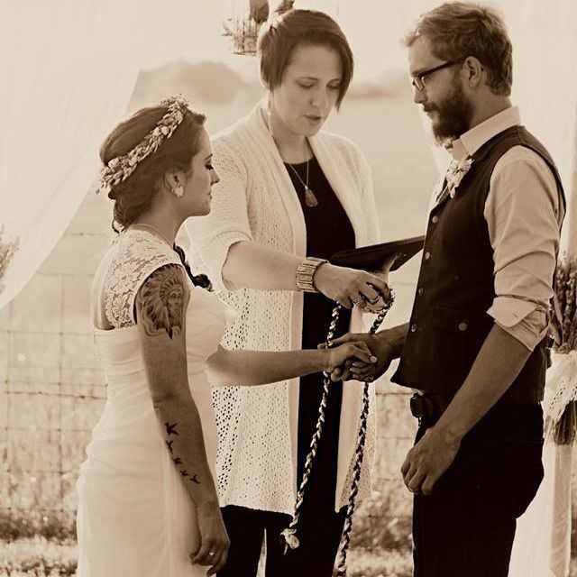 minister, officiant, handfasting, wedding, venue, rockwell, nc