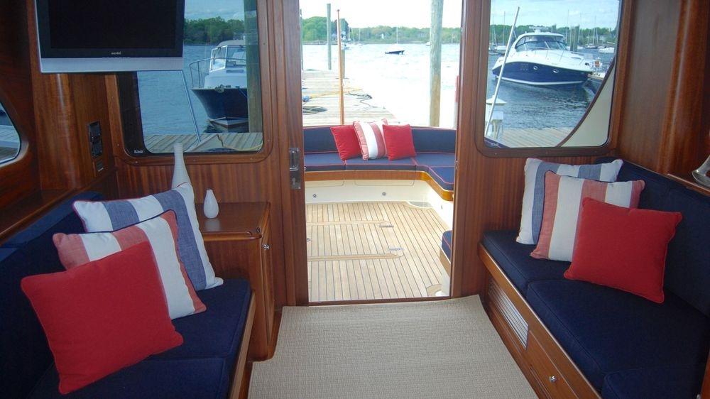 Vicem, Vicem yachts, Newport Yacht Interiors, custom yacht interior
