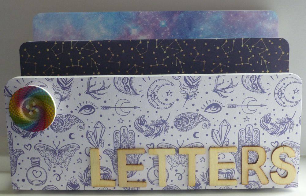 Cosmic Letter Holder