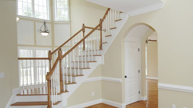 Decorating this hall, stairs and landing really changed the whole feel of the house.