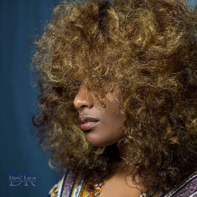 natural hair photo shoot - erykah badu inspired