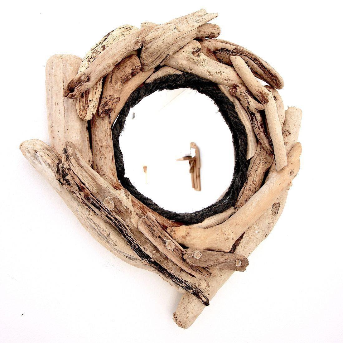 Driftwood Mirror 14