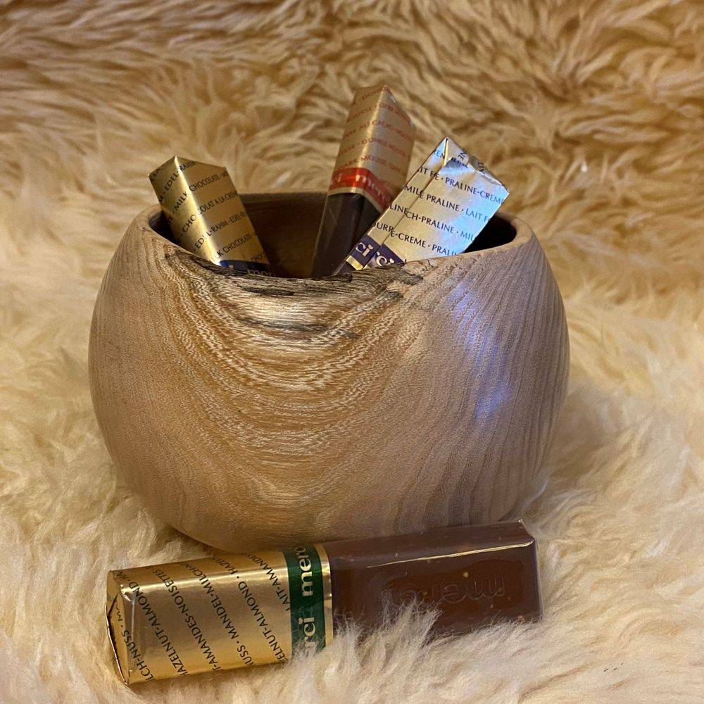 Maple Spherical  Bowl