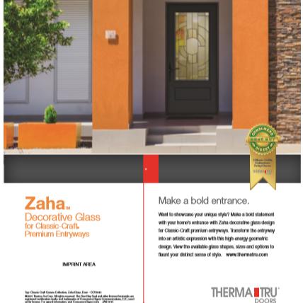 Print ad for door manufacturer.