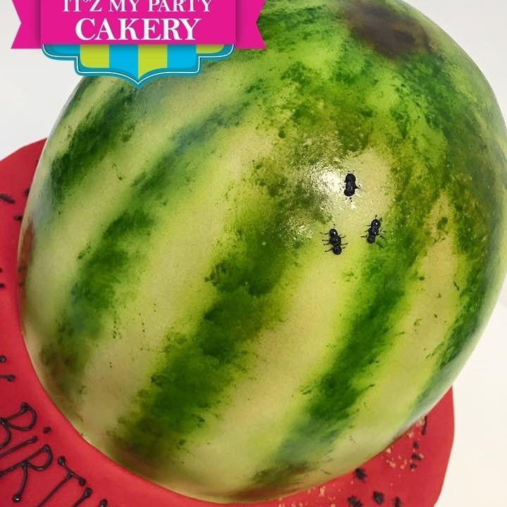 Watermelon Cake Dimensional Cake Milwaukee