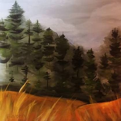 Forest Golden Foreground