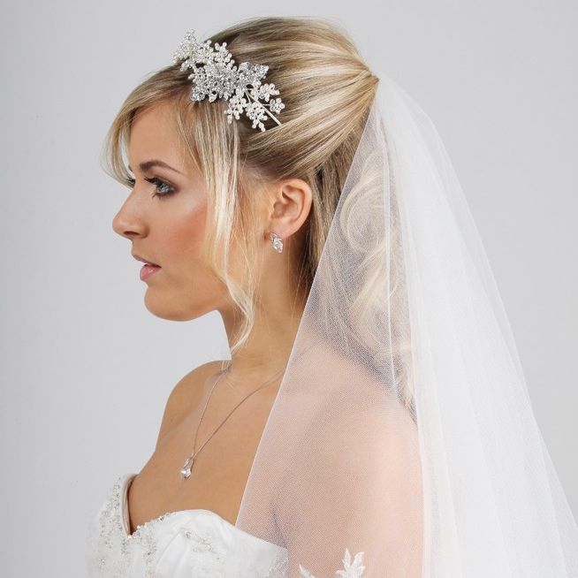 veil,lace,tulle,side tiara