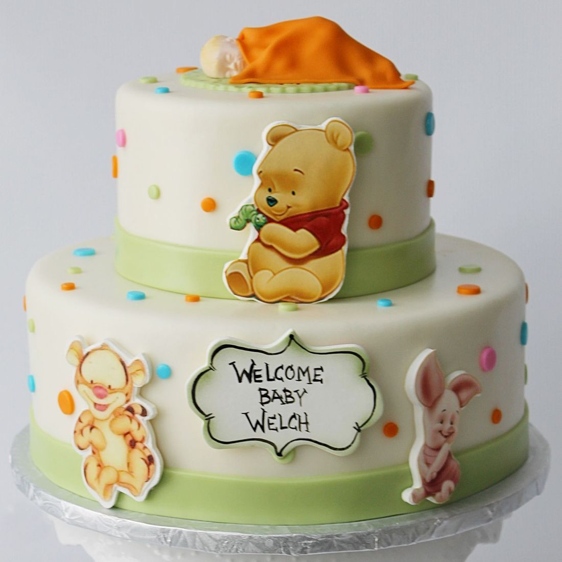 Custom Winnie The Pooh  Cake Milwaukee