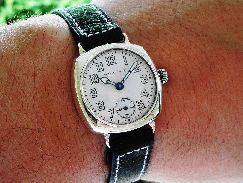 1918 WWI Waltham Depollier TIFFANY & Co Trench Watch