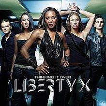 Liberty X pop album art work
