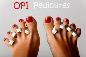 OPI nail varnish for pedicure in Marlow